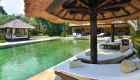 Villa Lotus Sunbed and pool 1